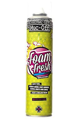 MUC-OFF Detergente Foam Fresh pulizia casco 400ml pulizia