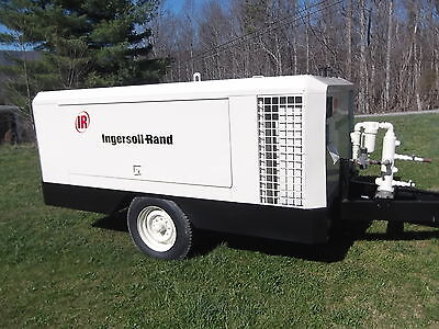 INGERSOLL-RAND P250WD 6 CYL DUETZ LOW HOURS Air Compressors