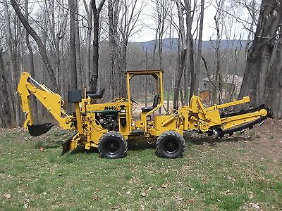 VERMEER M440 TRENCHER AND BACKHOE Trenchers