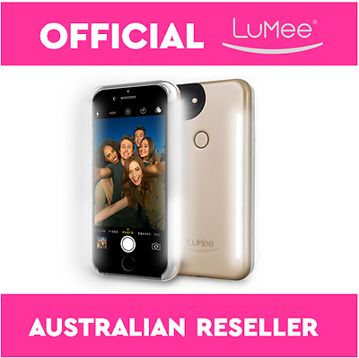 NEW LuMee DUO iPhone Selfie Case for iPhone 7 and iPhone 7 Plus