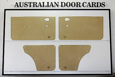 Mazda R100, 1200, 1300 Door Cards Suit Coupe. Blank Trim Panels