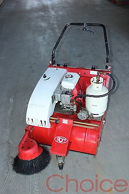 RCM Brava Walk Behind Industrial Floor Sweeper w Honda 2.2hp - Gas Petrol