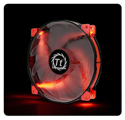Thermaltake Luna 20 Red LED 200mm Case Fan CL-F025-PL20RE-A
