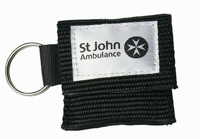 St John Ambulance Lifekey Pocket Fit Compact Pouch One Way Valve Easy Access New