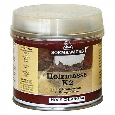 Polyester Spachtelmasse Transparent Holzkitt 2K Spachtel 125 ml Holz Antikmöbel