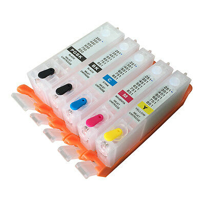 Ink tank For CANON PGI-170 CLI 171 MG5710 MG6810 ink cartridges with chips 5pcs