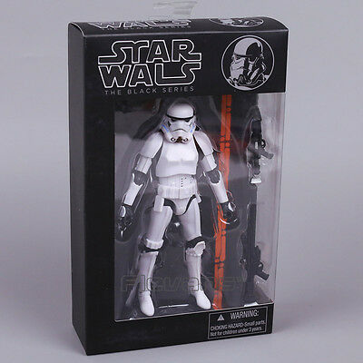 Star Wars The Black Series Stormtrooper Action Figure Toy PVC in box