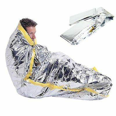 Blanket Thermal Shelter Tent Camping Outdoor Emergency Sleeping Bag Survival