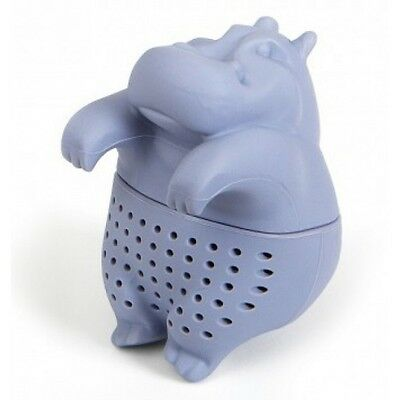 Infuseur A The Hippopotame Hippo Silicone / Boule Pour The En Vrac