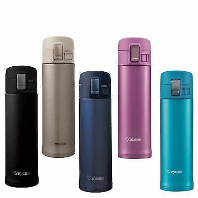 Authentic Zojirushi Travel Mug 480ml Vacuum Insulated Stainless Steel Flask Mug