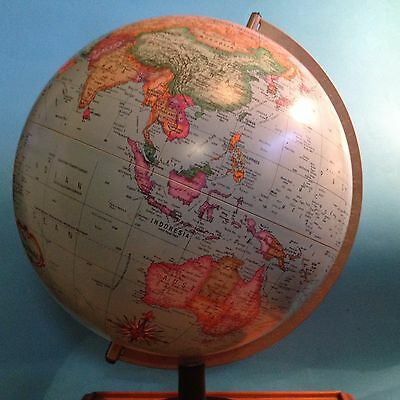 1992 The Political World 30cm GLOBE - by Scan-Globe, Denmark  - 42cm Tall