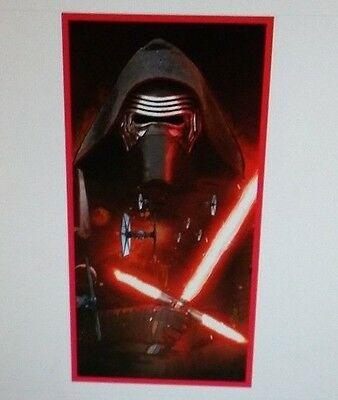 Disney Handtuch  Strandtuch,  Star Wars Motive, Trooper, Kylo Ren 70x140cm 01
