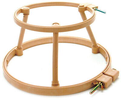 "Morgan Products 313 Lap Stand Combo 7"" & 9"" Hoops-"