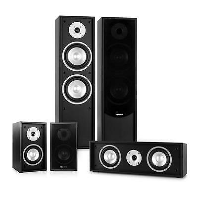 New 5.0 Satellite Floor Standing Speakers Hifi Home Cinema Surround Sound System