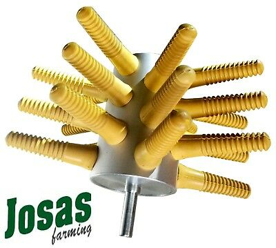 Chicken plucker 24 fingers + drill holder Poultry plucker Best seller