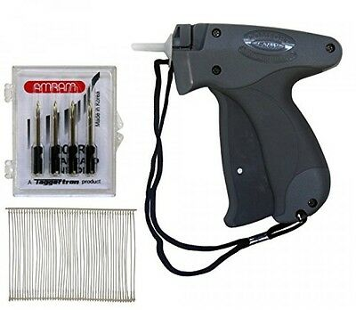 Amram Comfort Grip Standard Tag Attaching Tagging Gun BONUS KIT with 5 Needles
