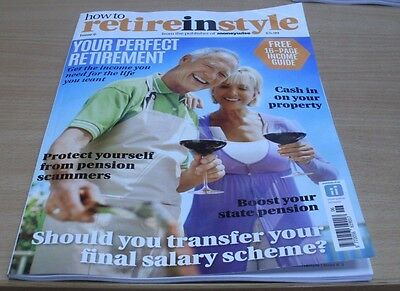 How to Retire in Style magazine Issue #6 2016 Final Salary Scheme? Income Guide