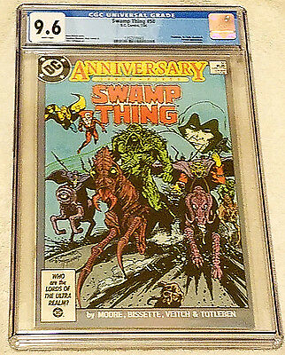 Swamp Thing #50, CGC 9.6 NM+ White, DC Comics 1986, 1st Justice League Dark