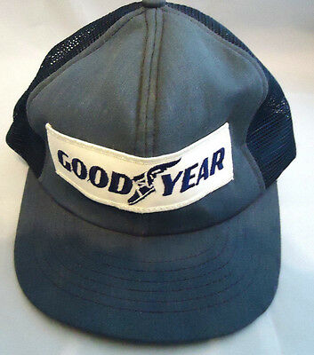 Vintage Goodyear Tires Embroidered Hat