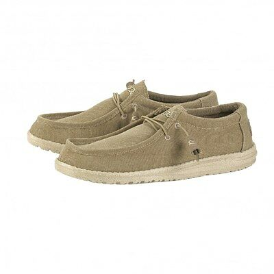 Mens Dude Wally Chestnut Shoes