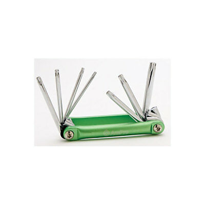 Torx Key Set, 7 Piece, Foldable, Magnetic Tips, T10 to T40