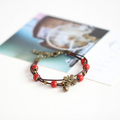 Adhere to the original handmade ceramic bracelet art Literature Department 1P