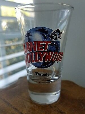 Planet Hollywood Toronto Tall Shot Glass Clear
