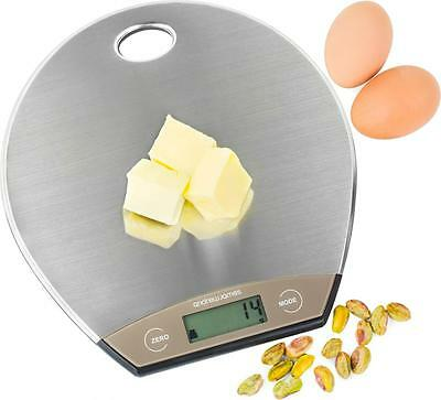 Andrew James Electronic Digital LCD Precise Slim Kitchen Weighing Scales Cooking