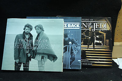 Star Wars Making of Books Lot of All 3