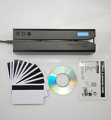 Deftun MSR605X Magnetic Credit Card Reader Writer Magstripe Magstrip Windows Mac