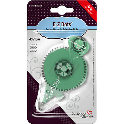 3L Scrapbook Adhesives E-Z Dots Refill-Repositionable, 43', Use In 120 (3Pk)