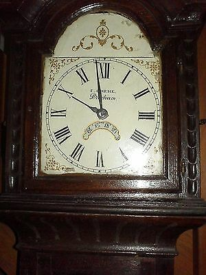 Carved Grandfather Clock
