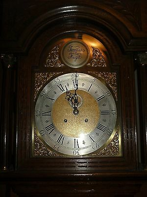 Antique Carved Longcase Clock