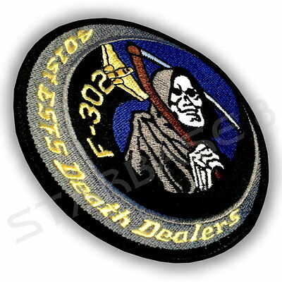 DEATH DEALERS F-302 Piloten Uniform Aufnäher / Patch - STARGATE SG1