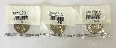 Kennedy Half Dollars 1980-D & 1992-P Uncirculated - See Pictures for Details