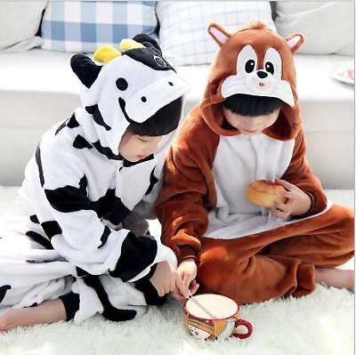 New Animal Onesie Onsies Pajamas Onsie Costume Pyjamas Child Unisex Sleepwear