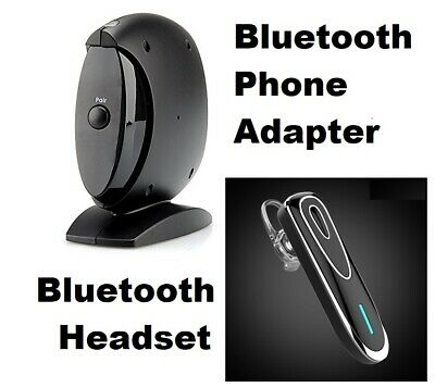 Wireless Bluetooth Landline Phone Adapter Hands-free - Answer Calls Anywhere!