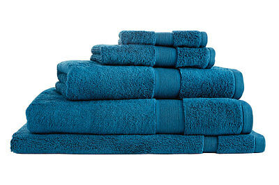NEW Sheridan Ultra-Light Luxury Towel Range - Kingfisher