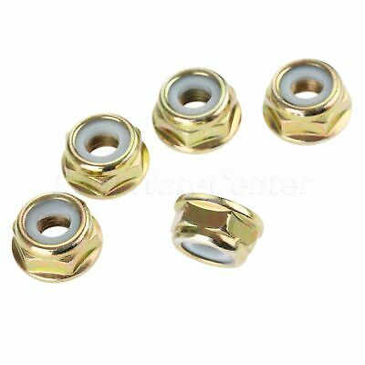 M10*1.25 Brush Cutter Blade Nuts String Trimmer Head Case Gear Spare Parts 5PCS