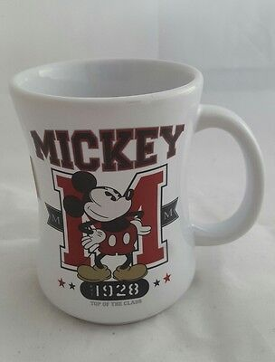Disney Store Exclusive Mickey Mouse 1928 Top Of The Class Mug 12 oz