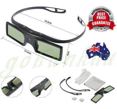Bluetooth 3D Active Shutter Glasses for 3D Samsung LG TV HDTV Blue-ray Player LQ