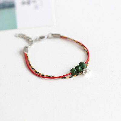 [waiting for fleeting] literary fresh simple fashion hand woven ceramic bracelet