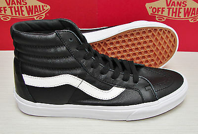 c6821062adfc VANS SK8 HI Reissue Premium Leather Black VN000ZA0EW9 Men s Size 9.5 ...