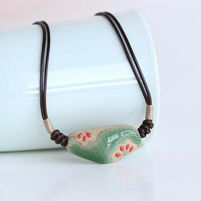 [spring image] special promotional handmade ceramic Necklace popular national 1P