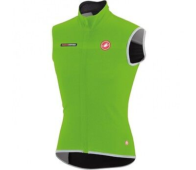 Castelli FAWESOME-2 CYCLING VEST Nano Flex Light Fabric GREEN - Small Or X Large