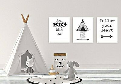 Nursery wall art, Baby room Decor, Children Art, Black and White, Modern clean A