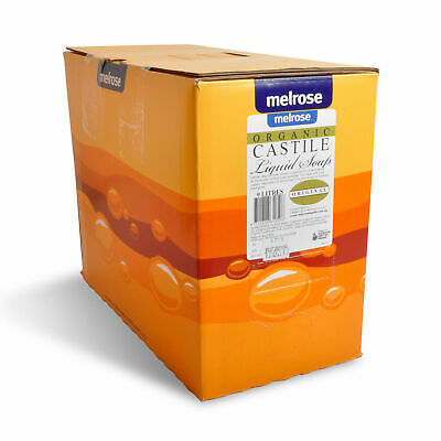Melrose Organic Castile Soap Original 9L - For Commercial & Bulk