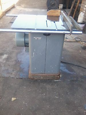 """Delta rockwell 10"""" unisaw tilting table saw 3 hp"""