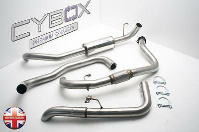 Toyota Land Cruiser Hdj80, Cybox Stainless Steel Exhaust System