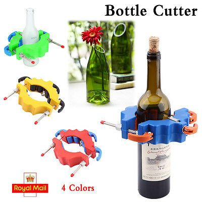 NEW MODEL Beer Glass Bottle Cutter Tool Craft Cutting Kit Jar Machine TopSelling